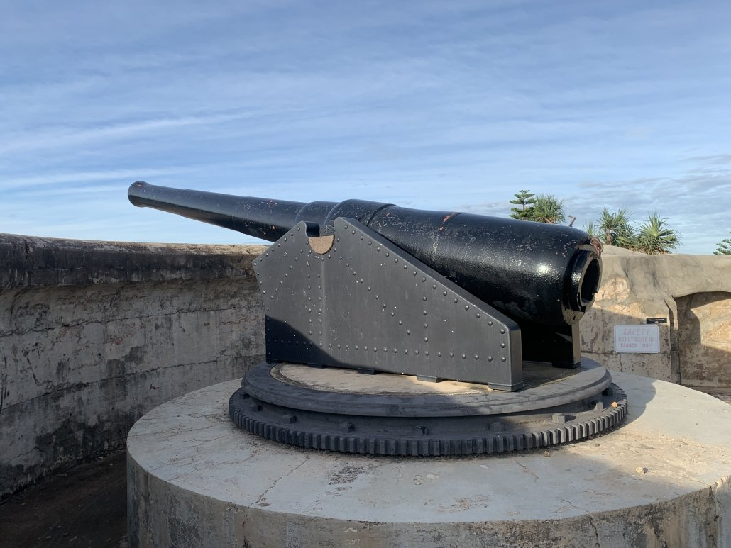 Gun at Kissing Point Fort, Townsville
