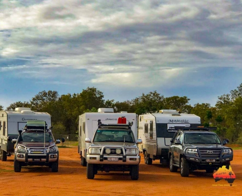Caravans at Eulo