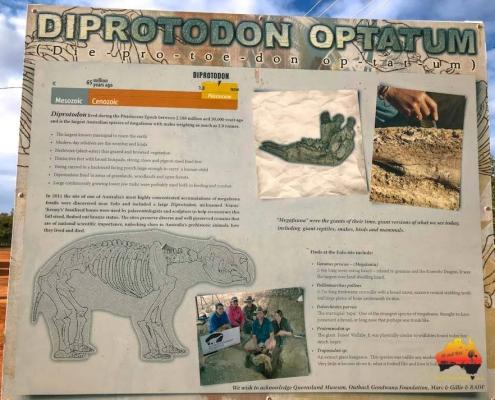 Diprotodon at Eulo