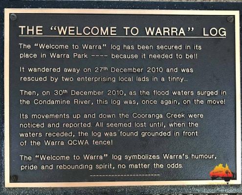Warra Log