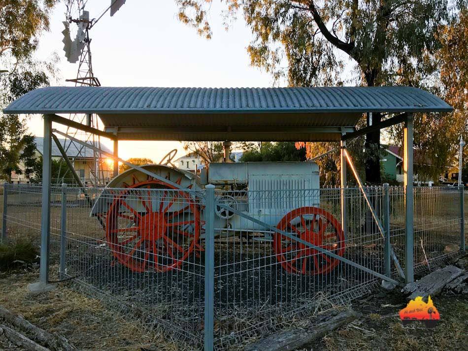 Richard Best Memorial Park, Warra Queensland