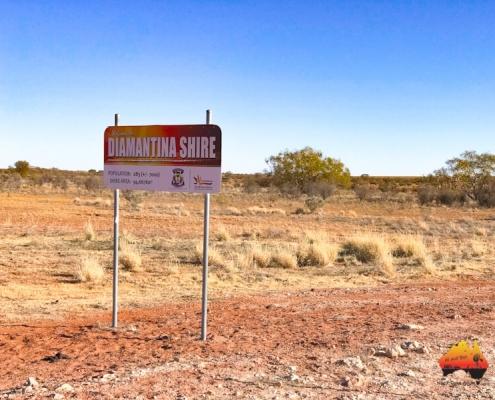 South Australia Queensland Border, Cordillo Downs Road