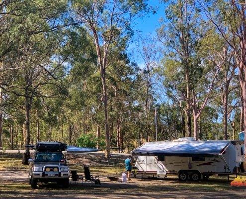 Lake Maroon Camping Ground