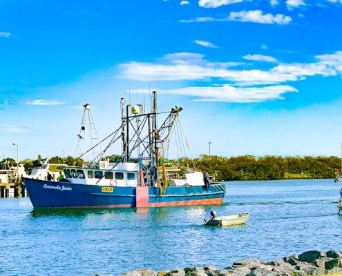 Trawler at La Balsa Park